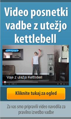 Oglejte si vaje s kettlebell
